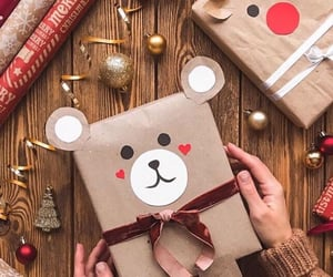 christmas, diy, and teddy image