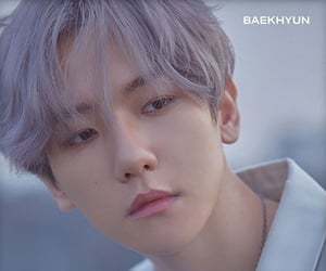 exo, baekhyun, and wallpaper image