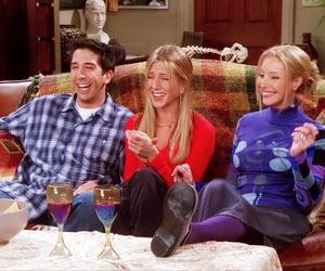 David Schwimmer, Jennifer Aniston, and Lisa Kudrow image