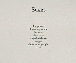quotes, scars, and poem image