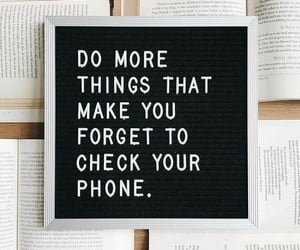 quotes, book, and phone image