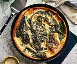 breakfast, brunch, and spinach image