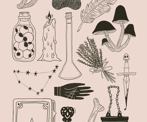 witch, wallpaper, and wicca image