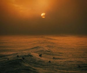 ocean, summer, and sky image