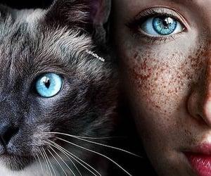 girl with blue eyes image
