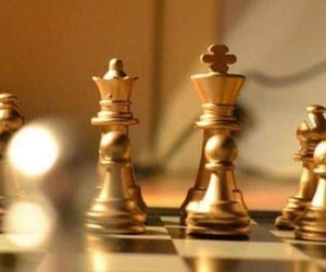 gold, aesthetics, and chess image