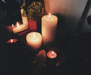 autumn, soiree, and candle image