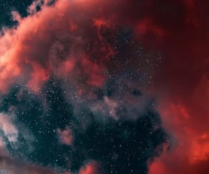stars, clouds, and wallpaper image