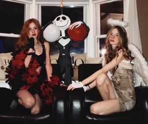 angel, costume, and demon image