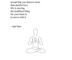 quotes, book, and rupi kaur image