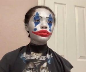 clown, makeup, and meme image