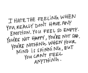 quotes, sad, and emotions image