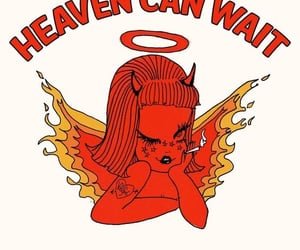 Devil, aesthetic, and heaven can wait image