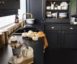 black, chic, and design image