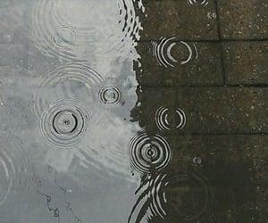 rain, wallpaper, and water image