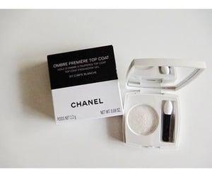 chanel, eyeshadow, and noir et blanc image