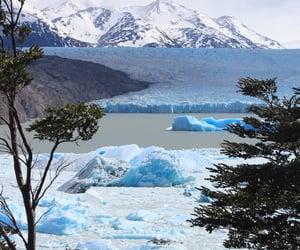chili, gletsjer, and grey image