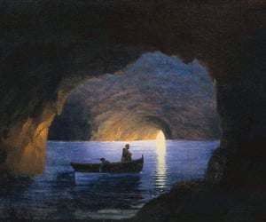 19th century, art, and boat image