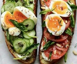 sandwich, breakfast, and food image