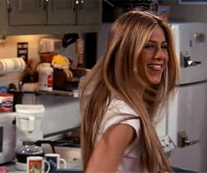 gif, rachel green, and television image