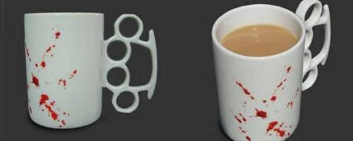 mug, product, and knuckle duster image