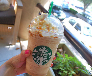 starbucks, photography, and drink image