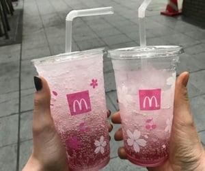 drink, lemonade, and McDonalds image