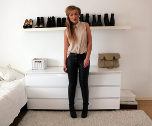 room, white, and shoes image