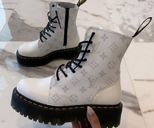 shoes boots, lv louis vuitton, and high end designer image