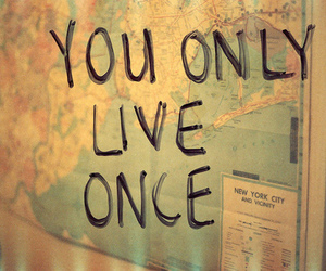 live, yolo, and life image