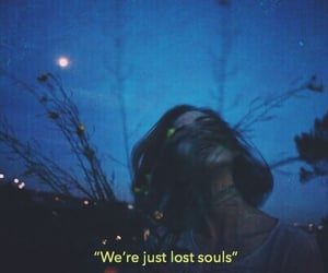 quotes, girl, and lost image