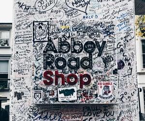 abbey road, music, and wanderlust image