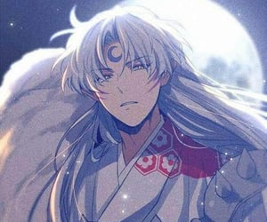 inuyasha, anime, and sesshomaru image