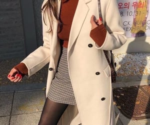 autumn, coat, and inspiration image