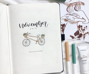 noviembre and bullet journal image
