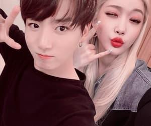 couple, jungkook, and korean image