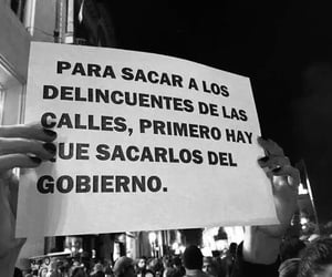 frases, protesta, and gobierno image