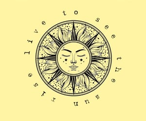Mantra, sun, and sunrise image