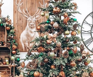 christmas, festive, and ornaments image