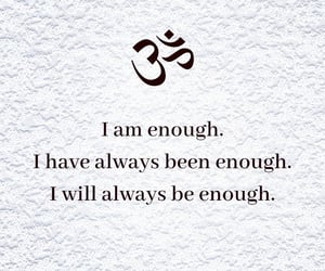 empowerment, enough, and me image