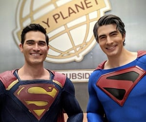superman, brandon routh, and tyler hoechlin image