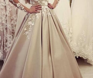 ballgown, weddingdress, and weddinggowns image