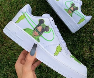 AF1, fashion, and green image