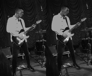 band, fashion, and guitar image
