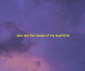 euphoria, purple, and quotes image