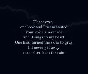 lightning, Lyrics, and Relationship image