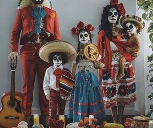 family, méxico, and dia de muertos image