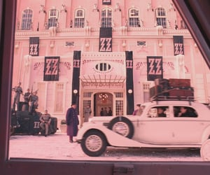 pink, theme, and the grand budapest hotel image