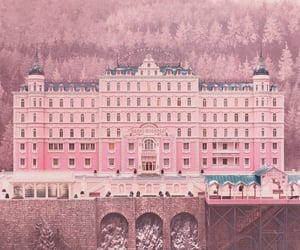 pink, hotel, and movie image