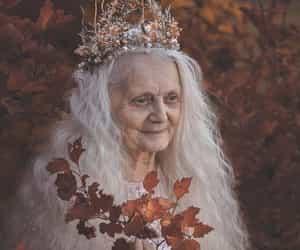 autumn, crone, and elderly image